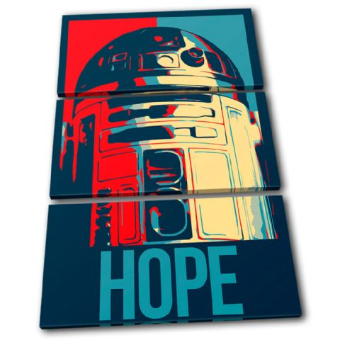 Sci Fi Iconic Film Hope Abstract - 13-6096(00B)-TR32-PO